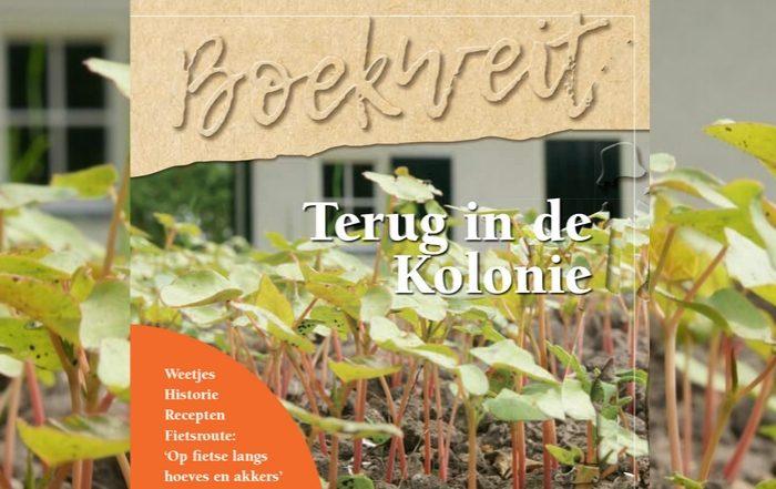 Boekweit Terug in de Kolonie - boekweitboekje - Weldadig Oord